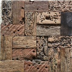 Natural wood mosaic tile NWMT049 wood mosaics kitchen backsplash tile ancient…