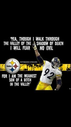 lol  LOVE James Harrison! :)