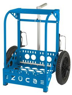 Buy Backpack Cart LG - Blue Bag at ZÜCA. We offer highly quality carry-on luggage bags in market with differenct options in colors, size, etc. Rolling Bag, Rolling Backpack, Carry On Luggage, Luggage Bags, Buy Backpack, Disc Golf, Blue Bags, Cart