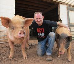This guys is a hero. He is the head of Animal Rescue Corp which has saved thousands of animals.