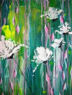 Acrylique sur toile by marie Gremmelprez