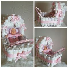 Connie`s lille verden: Bleiekake Baby Shower Baskets, Baby Barn, Gift Baskets, Babyshower, Children, Crafts, Diaper Cakes, Girl Shower, Showers