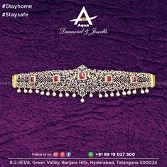 The contemporary Kanya is not any of those cliched and stereotyped girls limiting their style or dreams, anymore. Take your style a notch up with this diamond Vaddanam. South Indian Jewellery, Indian Jewelry, Big Rangoli Designs, Bridal Jewelry, Diamond Jewelry, Jewelery, Aqua, Fine Jewelry, Waist Belts