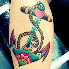 100 Most Popular Anchor Tattoos and Meanings