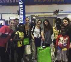 Our new volunteers. Akwaaba! #travelabroad #travelghana #volunteeringhana #uVolunteer #ghana