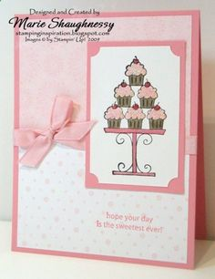 ♥ Stampin' Up! - Crazy for Cupcakes