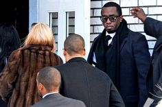 Sean P. Diddy Combs Lunettes Moscot