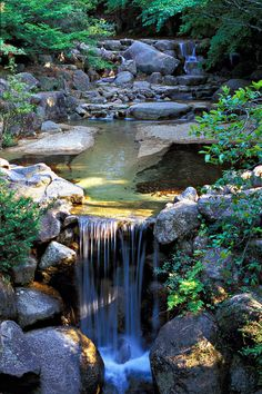 Waterfall Stream, Miyajima, Japan