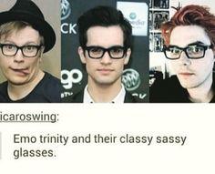 The emo trinity...