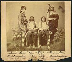 Julius Meyer, Spotted Tail, Iron Bull, Pawnee Killer