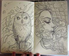 Moleskine sketch 2 by Sabinerich.deviantart.com on @deviantART