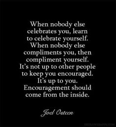 Learn To Celebrate Yourself