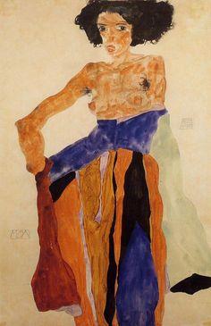 Moa — Egon Schiele