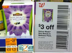 Walgreens: Nature Made Skin Beauty & Wellness Pack Possibly Only $3.29 (Reg. $24.99!) – Hip2Save