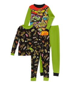 Look at this TMNT Pajama Set - Boys on #zulily today!