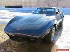 1975 Chevrolet Corvette Stingray Coupe 2-Door #chevrolet #corvette #forsale #unitedstates