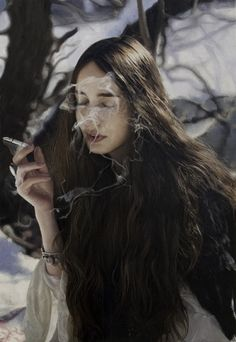 Yigal Ozeri (it is a painting, not a photo!)