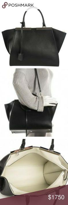 FENDI 3Jours Calfskin  New Bag NWT Fendi Bags Totes