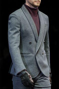 Farb-und Stilberatung mit www.farben-reich.com -  Giorgio Armani - Men Fashion Fall Winter 2013-14