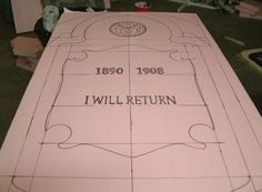 haloween headstone pattern | up with cool designs is the best part about making your own tombstones ...
