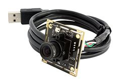ELP 3.6mm lens Raspberry Pi 1080P H.264 microphone PC Web usb security camera