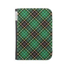 Green Tartan Caseable Case by elenaind