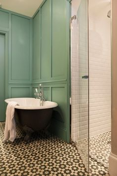 Eclectic Bathroom by Martins Camisuli Architects