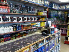 Auto parts store , Auto Parts, Mechanic, Sale of card accessories. Shop Interior Design, Store Design, Motorcycle Parts Store, Auto Parts Shop, Automotive Shops, Mechanic Shop, Piece Auto, Shelving Design, Diy Garage Storage