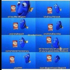 How can you not agree with this? Dori is my favorite