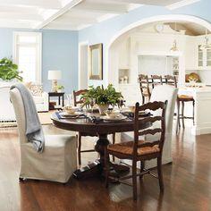 Frederick Pedestal Dining Table