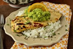 Fresh Margarita Chicken by Iowa Girl Eats - Easy and full of flavor! Served with quinoa