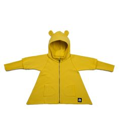 yellow cuffed hoodie Kids Fashion, Athletic, Hoodies, Yellow, Fun, Jackets, Clothes, Style, Down Jackets