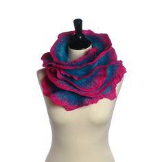 Jitterbug Rose by harlequinfeltworks on Etsy, $200.00