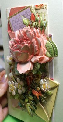 papertole Arts And Crafts Projects, Hobbies And Crafts, Projects To Try, 3d Paper Art, Paper Crafts, Birthday Calender, Pintura Country, 3d Wall Art, Silk Ribbon Embroidery