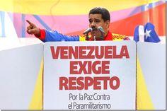"""¡Dándoselas de malote! Maduro le dice a la OEA que """"saque sus narices"""" de la frontera - http://lea-noticias.com/2015/08/29/dandoselas-de-malote-maduro-le-dice-a-la-oea-que-saque-sus-narices-de-la-frontera/"""