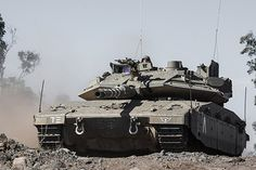 The Merkava IV Tank in the 7th Armored Brigade   The Merkava…   Flickr - Photo Sharing!