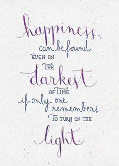 Purple quote