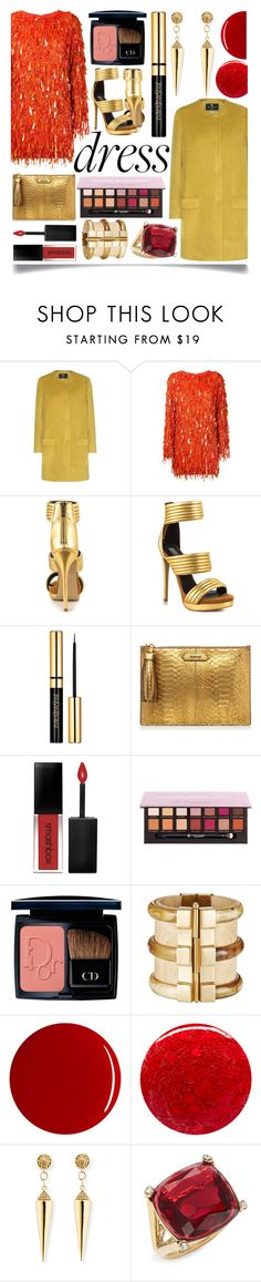 """Perfect Party Dress"" by ittie-kittie ❤ liked on Polyvore featuring Etro, Ashish, Mia Limited Edition, Smashbox, Christian Dior, RGB, Nails Inc., Sydney Evan, Kate Spade and party"
