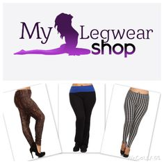 """""""Beauty is in the eye of the beholder"""" and curvaceous women can show off their beautiful curves without compromising  comfort or confidence! Curvy collection of leggings available at www.mylegwearshop.com"""