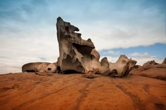 The Daliesque Remarkable Rocks. Kangaroo Island's answer to Uluru and a must-see.