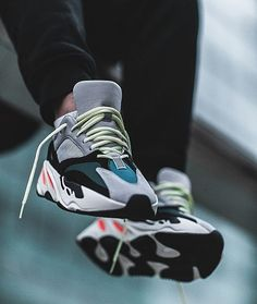 """Adidas Yeezy Boost 700 """"Wave Runner"""" 📸 by / ________________________________ Women's Shoes, Hype Shoes, Shoes Sneakers, Yeezy Shoes, Outfits Hombre, Running Shoes For Men, Adidas Shoes, Casual Chic, Sneakers Fashion"""
