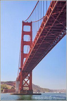Golden Gate Bridge Pictures: Cruising Underneath