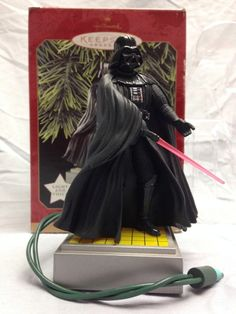 Hallmark Darth Vader Ornament (1997) light / voice. Vader would yell at us every time we turned on the Christmas tree.