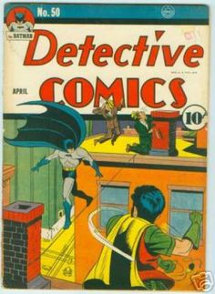 Detective Comics 50 golden age DC comics