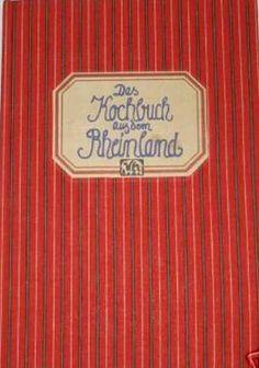 Das Kochbuch aus dem Rheinland
