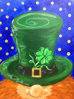 Toland Home Garden Shamrock Shower Flag Easy Canvas Painting, Spring Painting, Painting For Kids, St. Patrick's Day Diy, Saint Patricks Day Art, St Patricks Day Crafts For Kids, Fete Saint Patrick, St Patrick's Day Decorations, Kobold