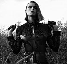 Cara Taylor | Equestrian Fashion Editorial | Vogue Japan