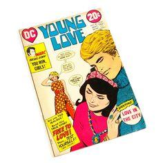 Comic Book Young Love No. 99 DC Comics 1972 by Flourisheshome #vintage #comicbook #vintagecomic #love #romance #heartbreak #teenromance #romancebook #gotvintage #valentinesday