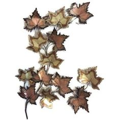 Vintage Jere Style Copper Brass Maple Leaves Metal Wall Art ($575) ❤ liked on Polyvore featuring home, home decor, wall art, backgrounds, sculptural wall objects, vintage wall art, brass wall sculpture, vintage home decor, copper sculptures and vintage metal wall art