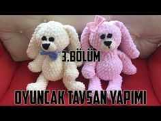 Finger Crochet, Snoopy, Teddy Bear, Make It Yourself, Knitting, Toys, Animals, Youtube, Models